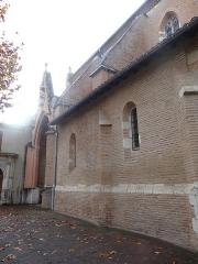 Chapelle Notre-Dame de Cahuzac - Façade est de la chapelle Notre-Dame de Cahuzac à Gimont.