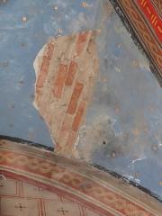 Chapelle Notre-Dame de Cahuzac - Dégradations dans la chapelle Notre-Dame de Cahuzac à Gimont.