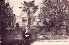 Château de Sainte-Barbe - Français:   Ambes-le-chateau-sainte-barbe-les-cascades