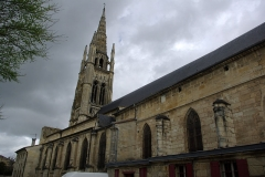 Eglise Saint-Jean - English:   Saint-Jean church in Libourne (Gironde, France). National Heritage Site of France.