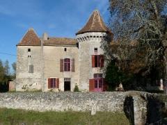 Maison forte du Boisset - Français:   Maison forte de Boisset, Berson, Gironde, France