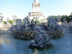 Monument élevé à la mémoire des Girondins - Italiano: Monumento ai Girondini, Bordeaux