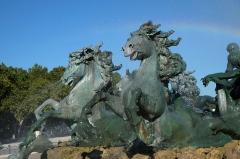 Monument élevé à la mémoire des Girondins - Monument aux Girondins Place des Quinconces Bordeaux Gironde France