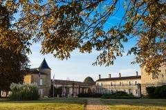 Château de Portets - Français:   Vu sur le cour d\'honneur du Château de Portets