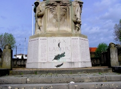 Monument aux Morts de la guerre 14-18 -  Arcachon en Gironde MAM Paix et Travail