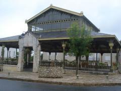 Halle - English: Pellegrue (Gironde, Fr), Market Halls