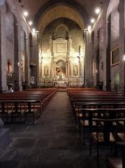 Canal du Midi (écluse ronde) - Intérieur de la cathédrale Saint-Étienne d'Agde (34).
