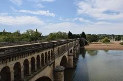 Canal du Midi : pont-aqueduc - Pont-canal de l'Orb