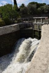 Canal du Midi : écluses de Fonsérannes - Écluses de Fonserannes