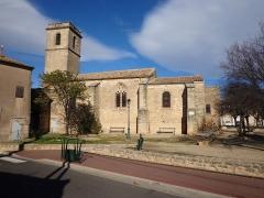 Eglise paroissiale Saint-Martin - Français:   Alignan-du-Vent (Hérault) - église Saint-Martin.