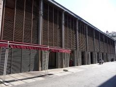 Halle Castellane - Català: Façana del Mercat Castellane (Montpeller)