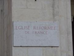 Temple de l'église réformée - Català: Temple de l'església reformada (Montpeller)