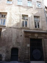 Ancien hostal des Carcassonne ou hôtel de Gayon, actuellement foyer des jeunes travailleurs - Català: Antic hostal dels Carcassonne (Montpeller)