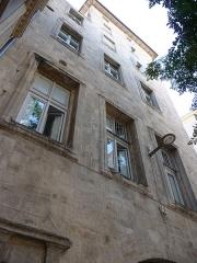 """Ancien """"hostal"""" des Carcassonne ou hôtel de Gayon, actuellement foyer des jeunes travailleurs - Català: Antic hostal dels Carcassonne (Montpeller)"""