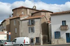 Eglise paroissiale Saint-Baudile - Français:   Maureilhan (Hérault) - église Saint-Baudile - vue générale