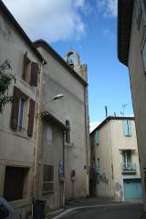 Eglise paroissiale Saint-Baudile - Français:   Maureilhan (Hérault) - église Saint-Baudile - clocheton