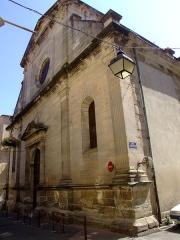 Eglise Saint-Pierre-aux-Liens - English: Lodève is a commune of the Hérault département  - France. Eglise de St Pierre