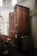 Eglise Saint-Pierre - Intérieur de l'église Saint-Maximilien-Kolbe de Corps-Nuds (35). Orgue.