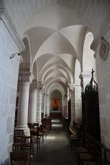 Eglise Saint-Pierre - Intérieur de l'église Saint-Maximilien-Kolbe de Corps-Nuds (35). Collatéral sud.