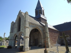 Eglise Saint-Hubert - English: Churh of La Nouaye