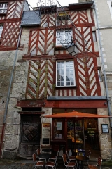 Immeubles - English: Rennes