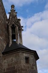Eglise de la Sainte-Trinité-Notre-Dame - Français:   Extérieur de l\'église Sainte-Trinité de Tinténiac (35).