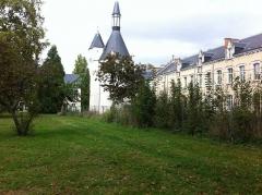 Château du Parc et manufacture de drap du château du Parc - Français:   Château du Parc - Chateau Balsan