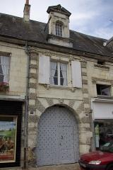 Hôtel dit des Rois ou d'Henri III - Français:   Châtillon-sur-Indre - Hôtel dit des Rois ou Henri III, 73 rue Grande.