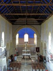 Ancienne église paroissiale Saint-Martin - Français:   Église Saint-Martin d\'Anjouin (Classé)