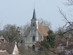 Eglise paroissiale Saint-Laurent - Français:   Église Saint-Laurent de Boussay
