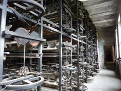 Usine de moulinage de la soie de la Galicière - Machines, usine de moulinage de soie de la Galicière, Chatte, Isère, France.