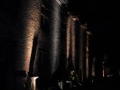 Ancienne église paroissiale Notre-Dame de la Jayère - Saint-Antoine-l'Abbaye by night 38160 PA38000020 VAN DEN HENDE ALAIN CC -BY-SA 4 0 050191
