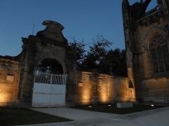 Ancienne église paroissiale Notre-Dame de la Jayère - Église Notre-Dame de la Jayère Eglise Saint-Antoine-l'Abbaye by night 38160 PA38000020 VAN DEN HENDE ALAIN CC -BY-SA 4 0 050137