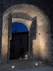 Ancienne église paroissiale Notre-Dame de la Jayère - Église Notre-Dame de la Jayère Eglise Saint-Antoine-l'Abbaye by night 38160 PA38000020 VAN DEN HENDE ALAIN CC -BY-SA 4 0 050166