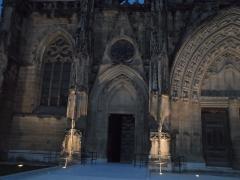 Ancienne église paroissiale Notre-Dame de la Jayère - Église Notre-Dame de la Jayère Eglise Saint-Antoine-l'Abbaye by night 38160 PA38000020 VAN DEN HENDE ALAIN CC -BY-SA 4 0 050139