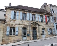 Auditoire et prisons - Français:   Prisons royales de Saint-Amour, Jura.