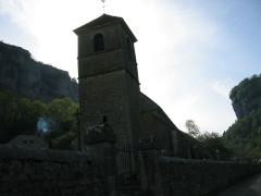 Eglise paroissiale Saint-Jean-Baptiste -  Baume les Messieux - Franche Comté - France