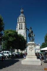 Monument à Rochambeau - English: Vendôme, Loir-et-Cher, France