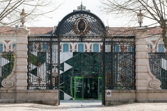 Ancienne manufacture nationale d'armes de Saint-Etienne -  The Place of Manufacture, on which opens the main gate, is broad enough to allow the organization of convoys or military ceremonies.
