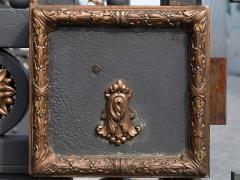 Ancienne manufacture nationale d'armes de Saint-Etienne -  {{LangSwitch en= Lock ornament. |es= Ornamento de la cerradura. |fr= Ornement de la serrure. }}