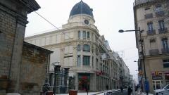 """Immeuble dénommé  Les Nouvelles Galeries - English:  The building Demogé named """"Nouvelles Galeries""""."""