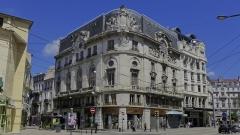 """Immeuble dénommé """" Hôtel des Ingénieurs """", - Vue générale de l'hôtel des ingénieurs à Saint-Etienne, chef-lieu du département de la Loire."""