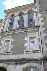 Hôtel Leglas-Maurice - Français:   Hôtel Leglas-Maurice, façade NE, 3 baies vitrées, 134 boulevard Bellamy