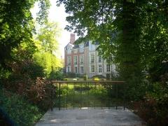 Hôtel Brachet, dit aussi hôtel de la Vieille Intendance - Français:   Jardin de la Vieille-Intendance à Orléans (Loiret, France)