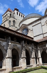 Chapelle Sainte-Anne - Extérieur de la cathédrale Saint-Étienne de Cahors (46).