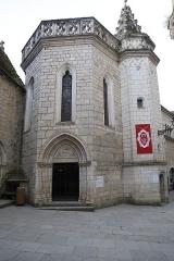 Chapelle baptismale Saint-Jean-Baptiste - Français:   Chapelle Saint-Jean-Baptiste de Rocamadour
