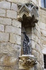 Parvis et escaliers de la cité religieuse - Français:   Rocamadour, Lot, France - grand escalier.