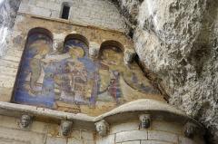 Chapelle Saint-Michel - Français:   Rocamadour, Lot, France - fresque sur la chapelle Saint Michel.