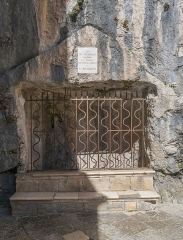 Cité religieuse - Français:   Crypte de Saint-Amadour, Rocamadour, Lot, France