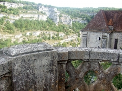 Cité religieuse - panorama rocamadour
